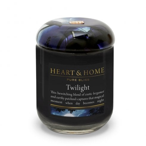 Heart & Home Large Candle Jar Twilight