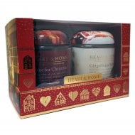 Large Candle Jars Christmas Gift Box Set of 2