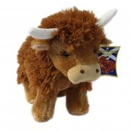 Large Highland Cow Soft Toy