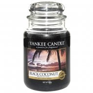 Large Jar Candle Black Coconut