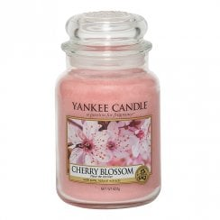 Large Jar Candle Cherry Blossom