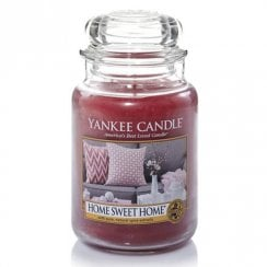 Large Jar Candle Home Sweet Home