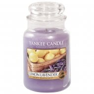Large Jar Candle Lemon Lavender