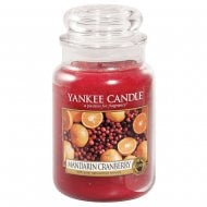 Large Jar Candle Mandarin Cranberry