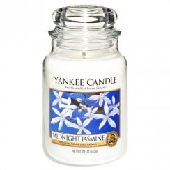 Large Jar Candle Midnight Jasmine
