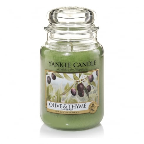 Yankee Candle Large Jar Candle Olive & Thyme