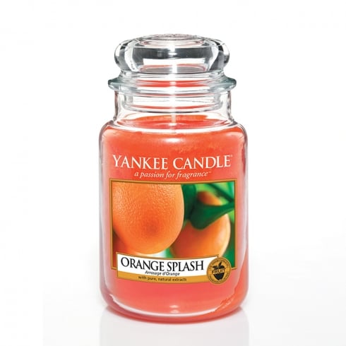 Yankee Candle Large Jar Candle Orange Splash