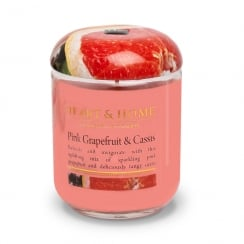 Large Jar Candle Pink Grapefruit & Cassis