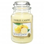 Large Jar Candle Sicilian Lemon