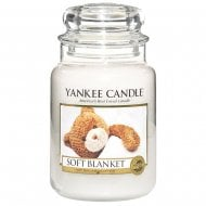 Large Jar Candle Soft Blanket