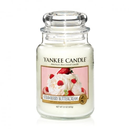 Yankee Candle Large Jar Candle Strawberry Buttercream