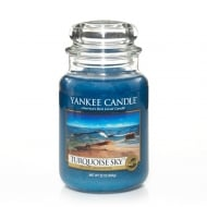 Large Jar Candle Turquoise Sky