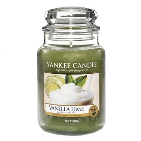 Yankee Candle Large Jar Candle Vanilla Lime