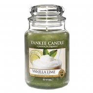 Large Jar Candle Vanilla Lime