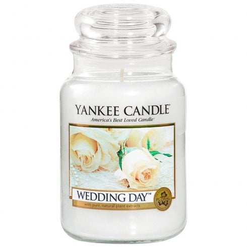Yankee Candle Large Jar Candle Wedding Day