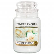 Large Jar Candle Wedding Day