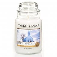 Large Jar Candle White Christmas