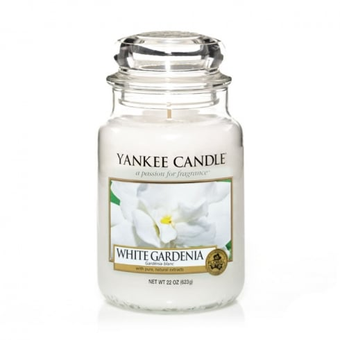 Yankee Candle Large Jar Candle White Gardenia