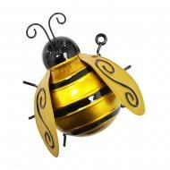 Large Metal Bumblebee Home Garden Hanging Wall Art