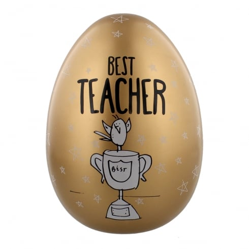 "Eggcellent Gifts Large Nest Egg ""Best Teacher"" Money Bank"