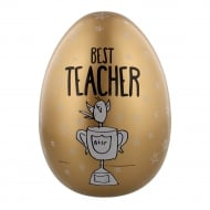 "Large Nest Egg ""Best Teacher"" Money Bank"