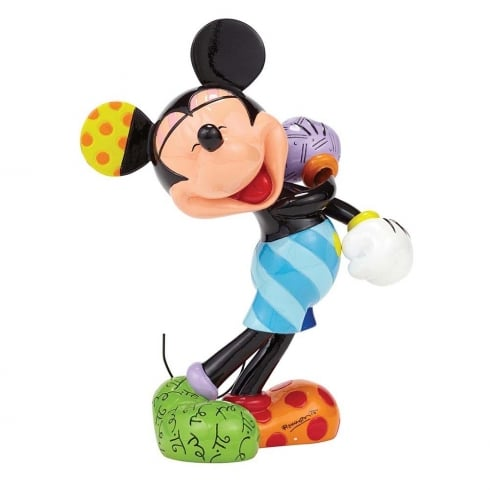 Disney By Britto Laughing Mickey Mouse Figurine