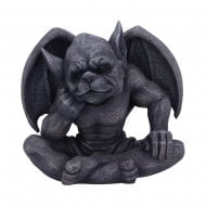 Laverne Dark Black Grotesque Gargoyle Figurine
