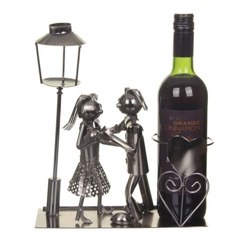 Flame Homeware Lee and Lucy Dancing Wine Bottle Holder
