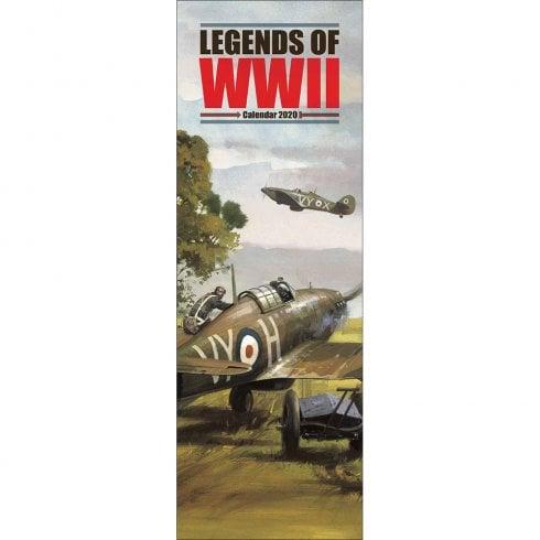 Otter House Legends Of WW11 2020 Slim Calendar
