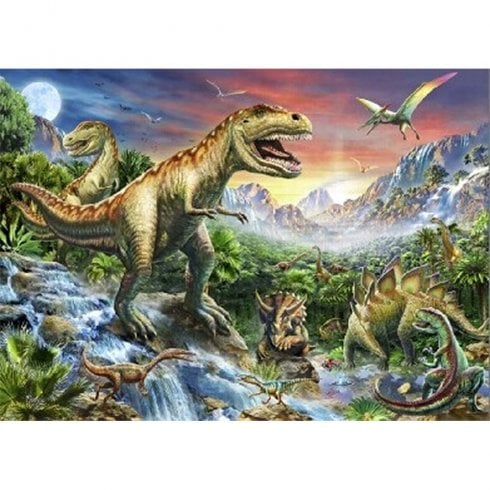 Faithful Friends Collectables Lenticular 3D Picture Dinosaur Group