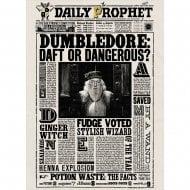 Lenticular Card Daily Prophet Dumbledore