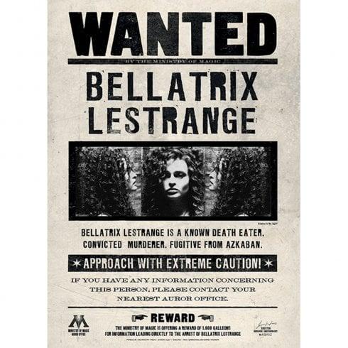 Mint Publishing Lenticular Card Wanted Bellatrix Card