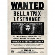 Lenticular Card Wanted Bellatrix Card