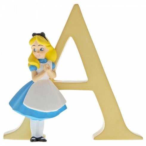 Disney Enchanting Collection Letter A - Alice In Wonderland