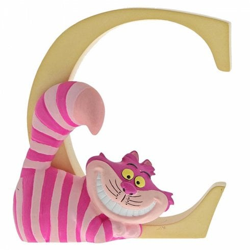 Disney Enchanting Collection Letter C - Cheshire Cat