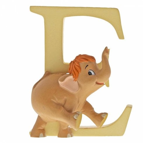 Disney Enchanting Collection Letter E - Baby Elephant