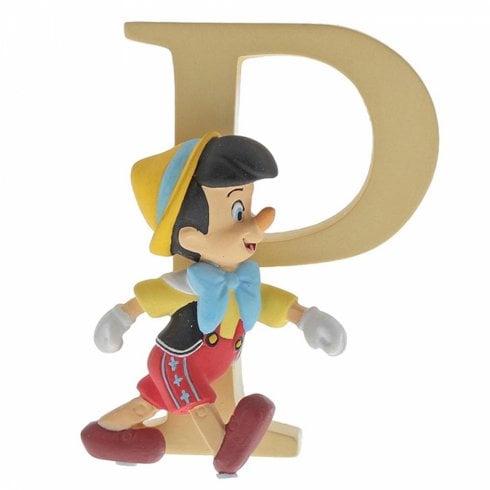 Disney Enchanting Collection Letter P - Pinocchio