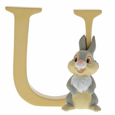 Disney Enchanting Collection Letter U - Thumper