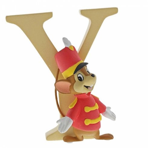 Disney Enchanting Collection Letter Y - Timothy Q Mouse