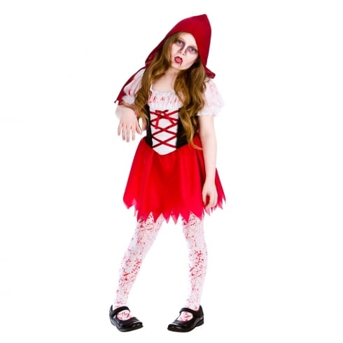 Wicked Costumes Lil Zombie Riding Hood (5-7) Medium