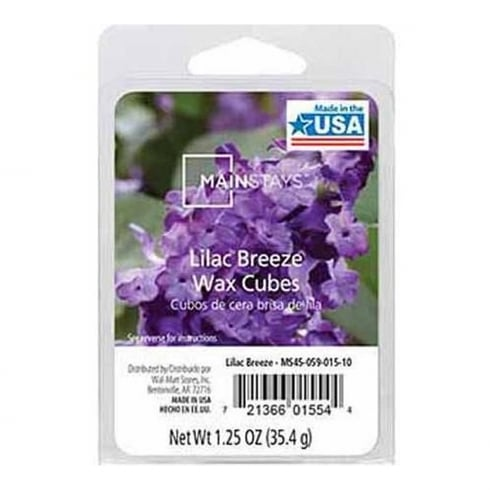 Mainstays Lilac Breeze Scented Wax Cube Melts