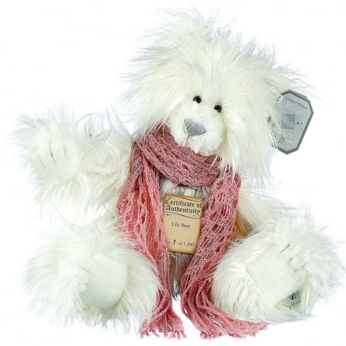 Silver Tag Bears Lily Limited Edition Bear