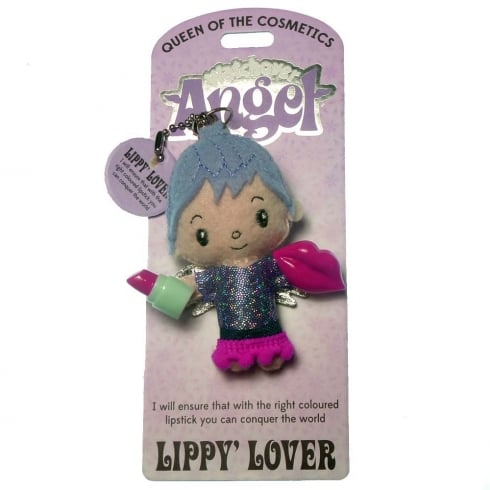 Watchover Angels Lippy Lover Angel Keyring