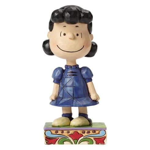 Jim Shore - Peanuts Little Miss Fussbudget Lucy Figurine