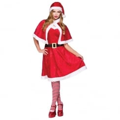 Little Miss Santa one size