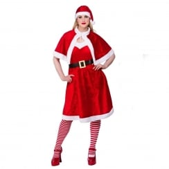 Little Miss Santa Plus Size