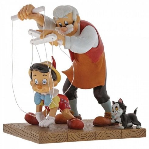 Disney Enchanting Collection Little Wooden Head Pinocchio Figurine