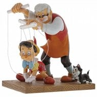 Little Wooden Head Pinocchio Figurine