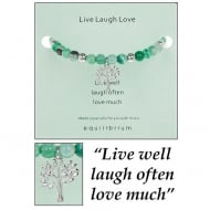 Live Laugh Love Bangle