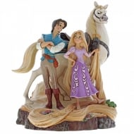 Disney Traditions Live Your Dream Carved by Heart Tangled Figurine